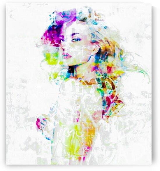 Hey Baby by FANNY artiste peintre