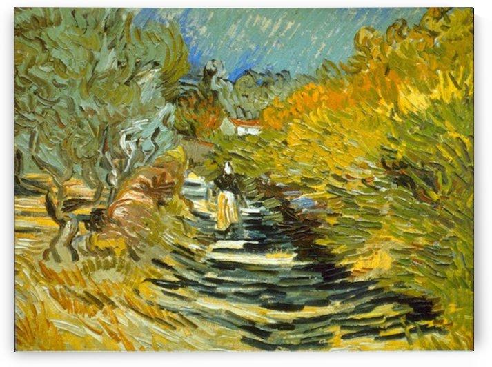 Saint-Remy by Van Gogh by Van Gogh