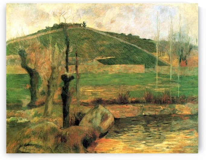 Sainte Marguerite near Pont-Avon by Gauguin by Gauguin
