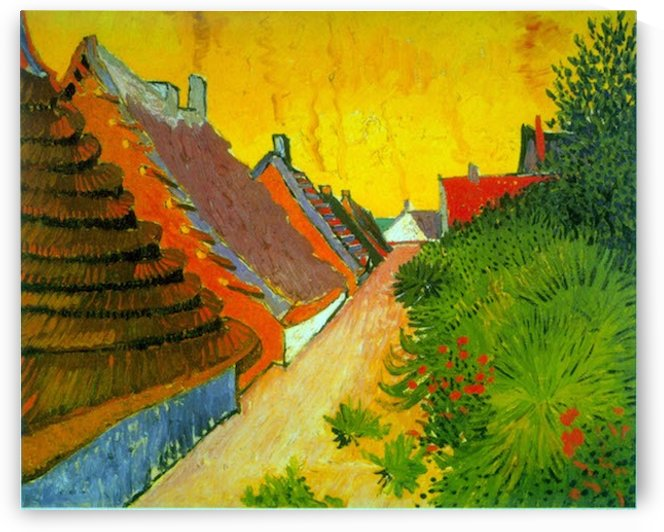 Saintes-Maries by Van Gogh by Van Gogh