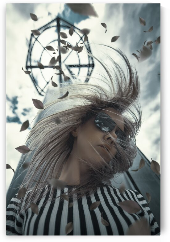Wind Tower  by Artmood Visualz