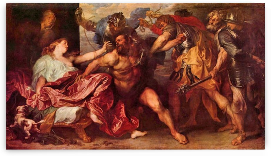 Samson and Delilah by Van Dyck by Van Dyck