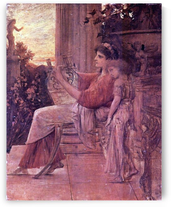 Sapho by Klimt by Klimt