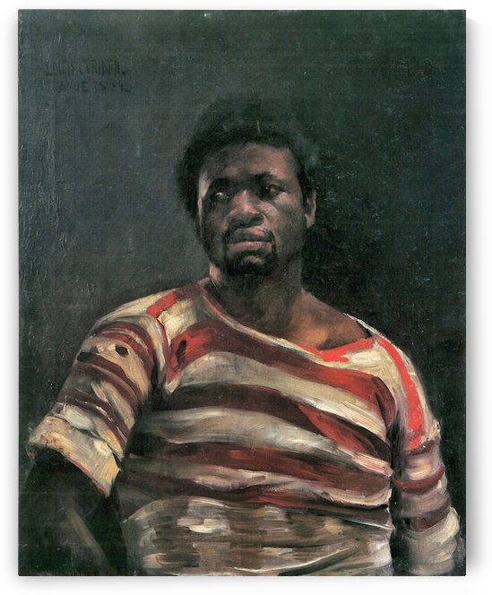Negro Othello by Lovis Corinth by Lovis Corinth