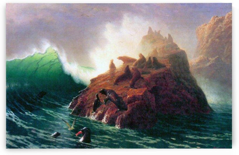 Seal Rock, California by Bierstadt by Bierstadt