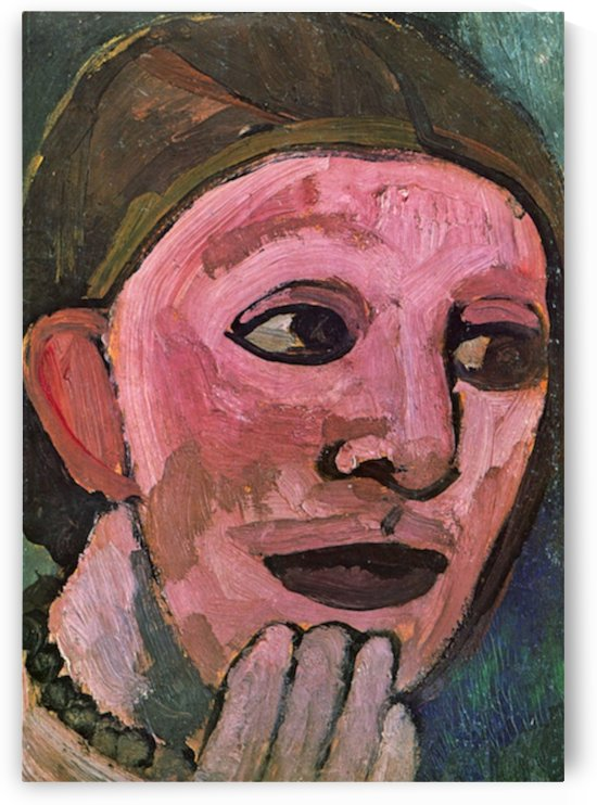 Self Portrain by Paula Modersohn-Becker by Paula Modersohn-Becker