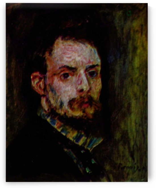 Self Portrait 2 by Renoir by Renoir