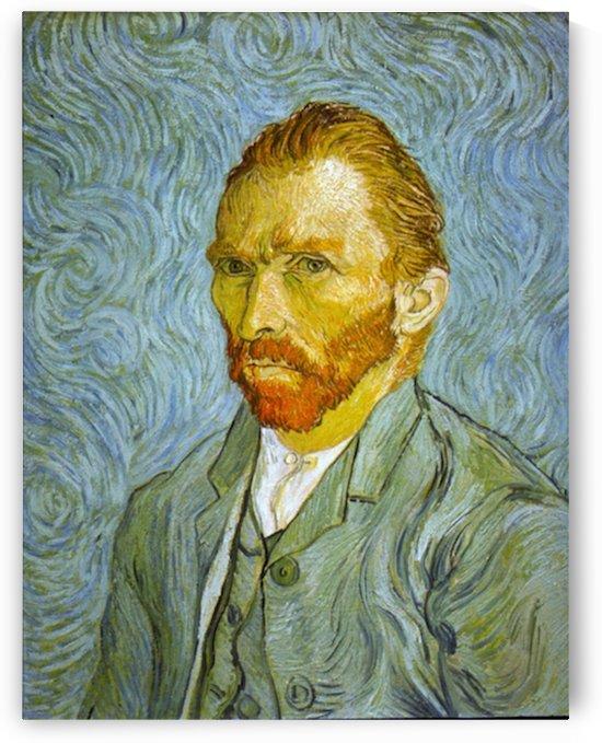 Self Portrait by Van Gogh by Van Gogh