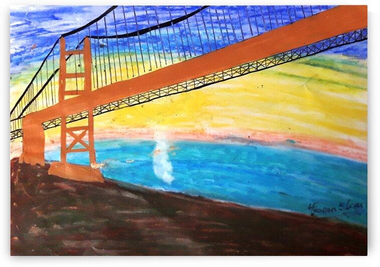 Golden Gate Bridge by Yasmin MUhammad Elias