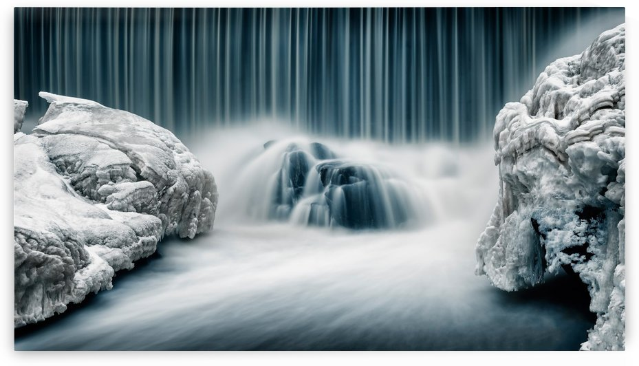 Icy Falls by 1x