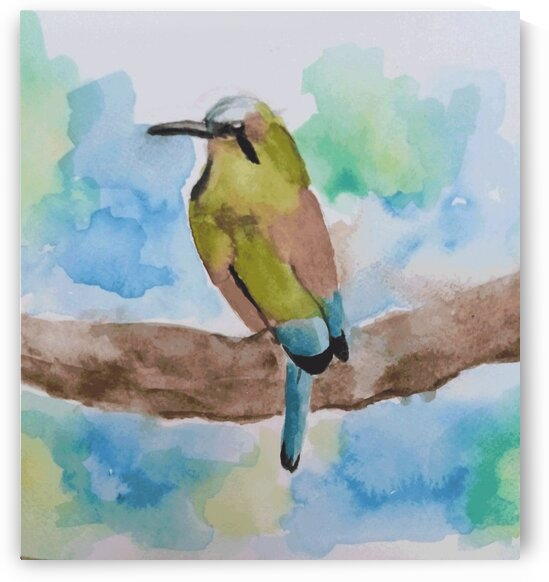 sparrow  by Bedo Art
