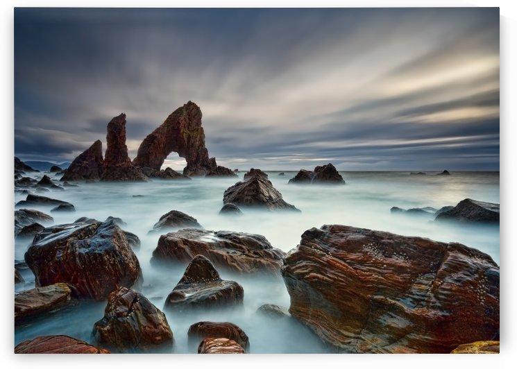 Sea Arch at Crohy Head by Derek Smyth  by 1x