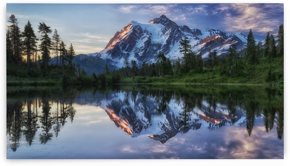 Sunrise on Mount Shuksan by 1x