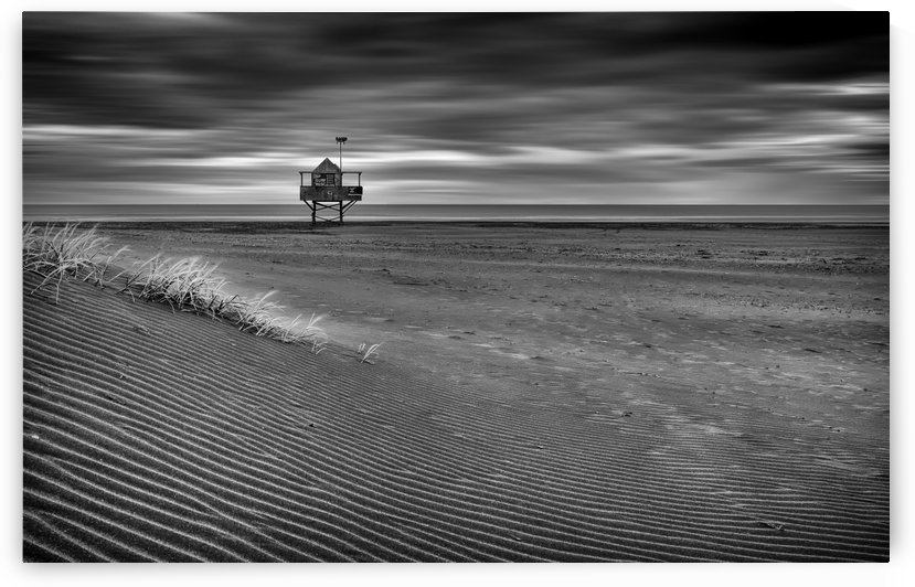 The Beach Hut by Peter Elgar  by 1x