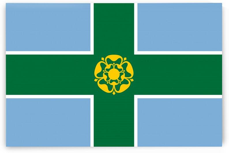 Derbyshire flag by Tony Tudor