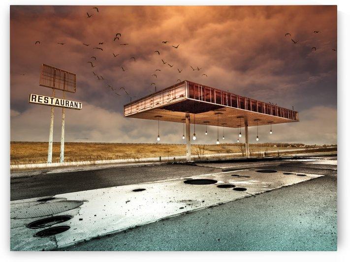 Gaz Bar Blues by David Senechal Photographie by 1x