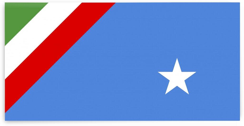 Republic Ossola italy flag by Tony Tudor