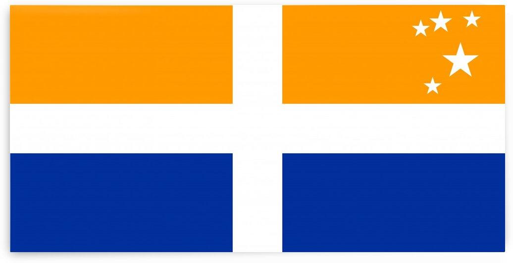Scillonian cross flag by Tony Tudor