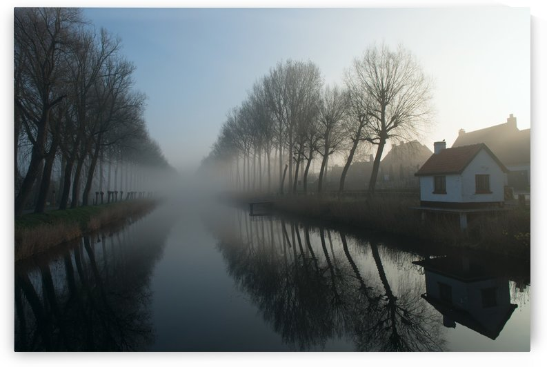 Mist across the Canal by 1x
