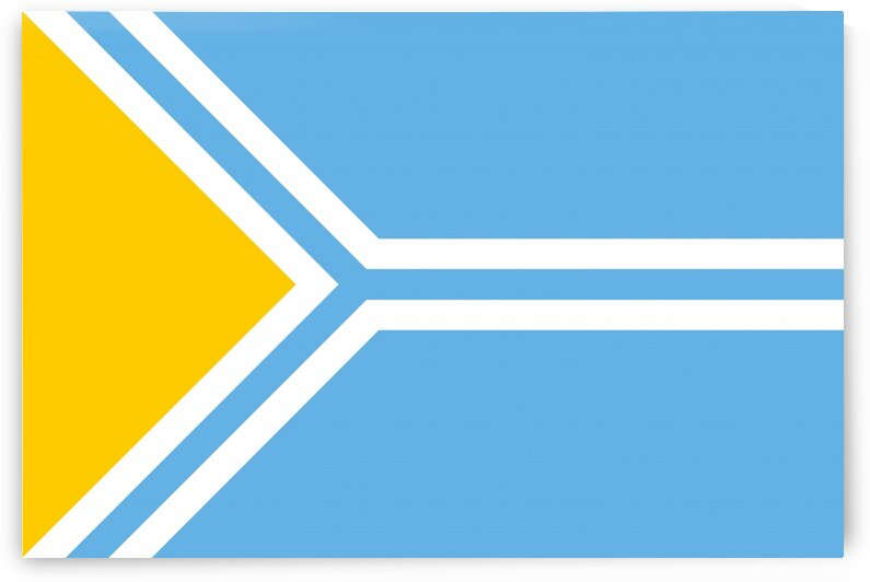 Tuva flag by Tony Tudor