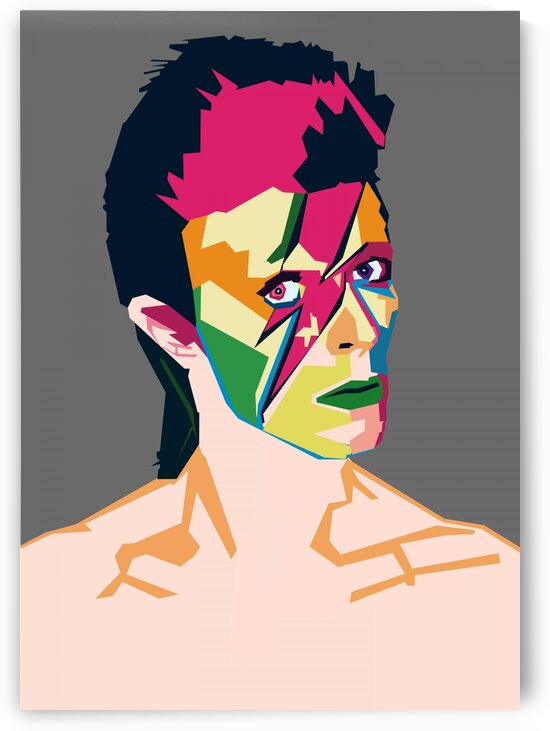 David Bowie POP ART WPAP STYLE by RANGGA OZI