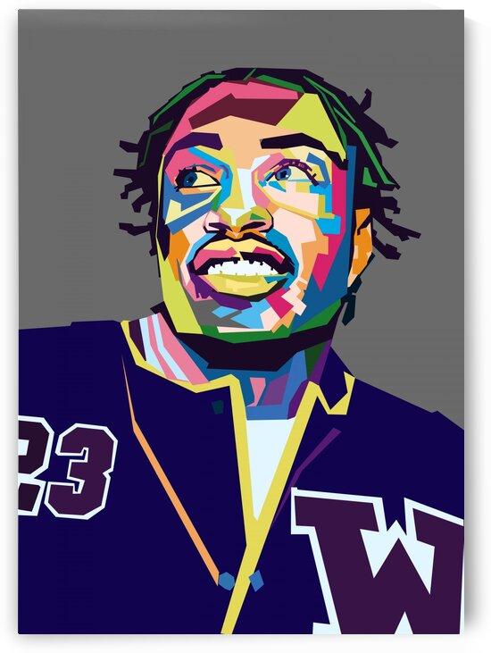 Lil Tjay POP ART WPAP STYLE 2 by RANGGA OZI