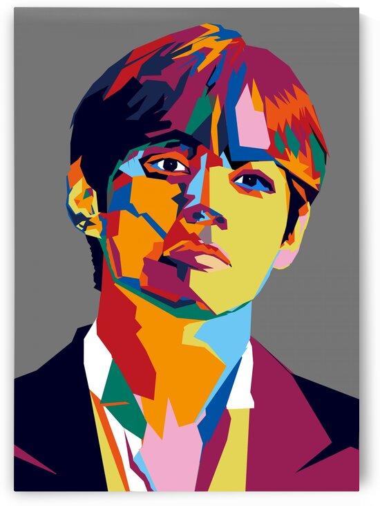 Kim Taehyung POP ART WPAP STYLE by RANGGA OZI