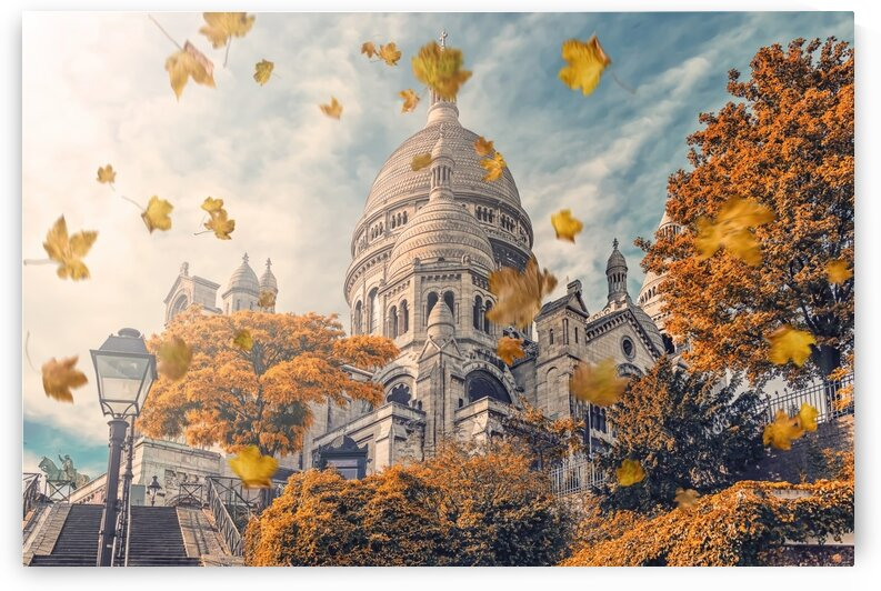 Autumn in Montmartre by Manjik Pictures