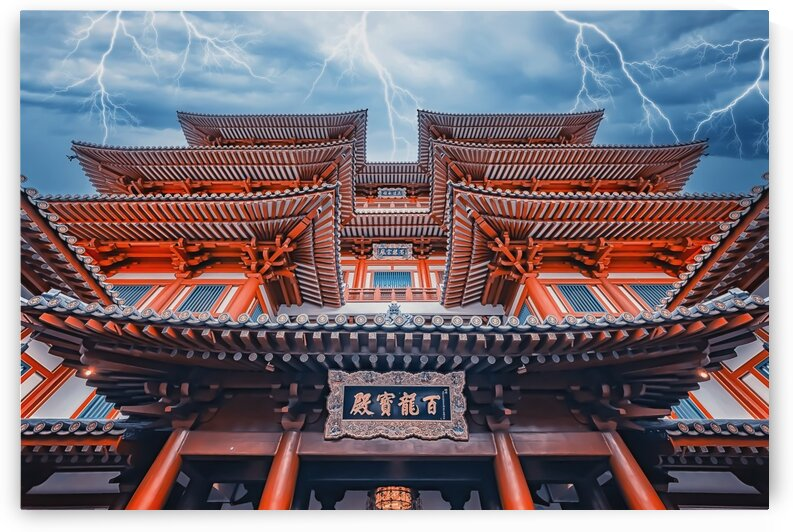 Buddha Tooth Relic Temple by Manjik Pictures