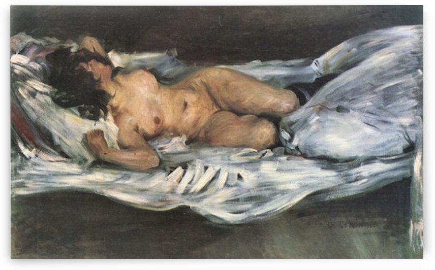 Nude by Lovis Corinth by Lovis Corinth