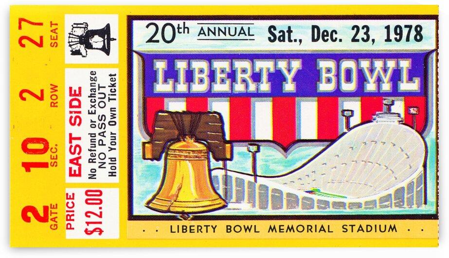1978 Liberty Bowl Missouri Win by Row One Brand