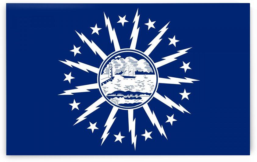 Buffalo city New York flag by Tony Tudor