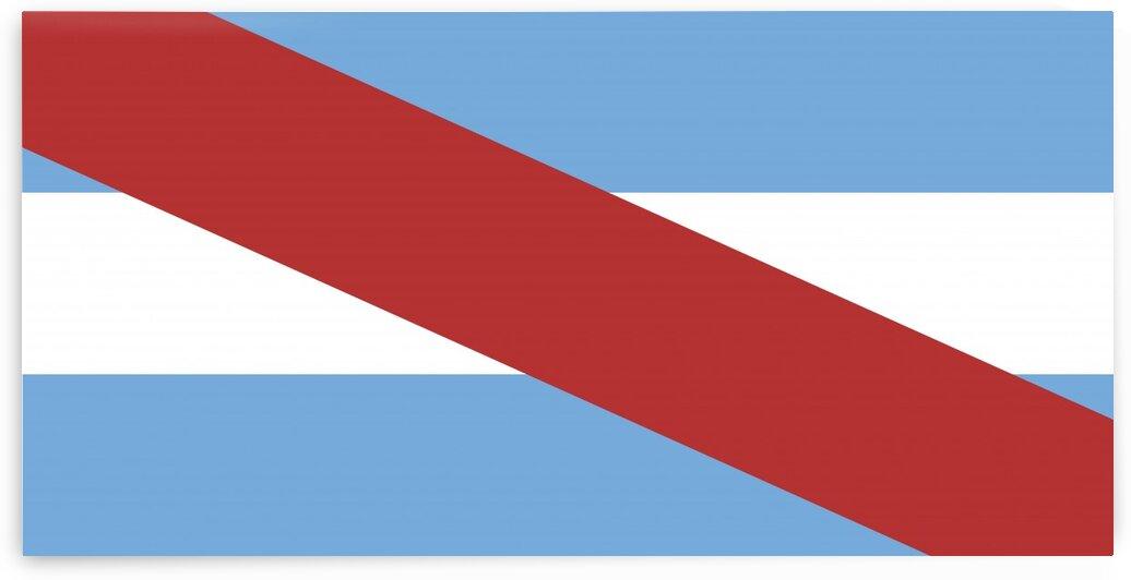 Entre Rios flag Argentina by Tony Tudor