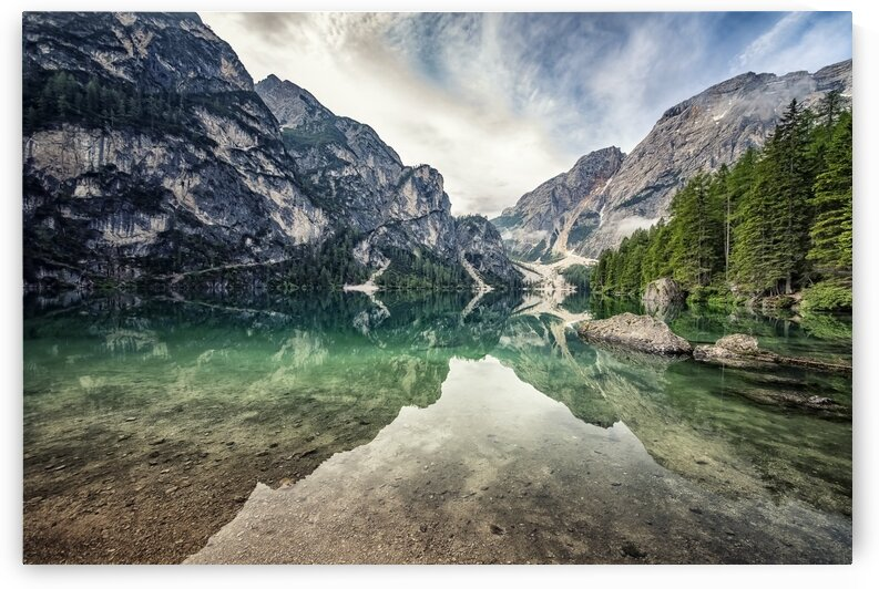 Reflection at Braies by Manjik Pictures