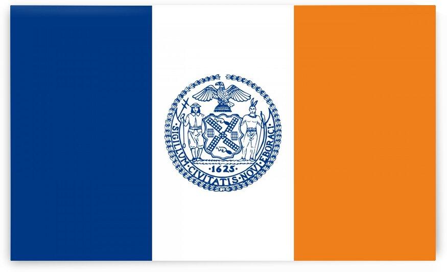 new york city flag by Tony Tudor