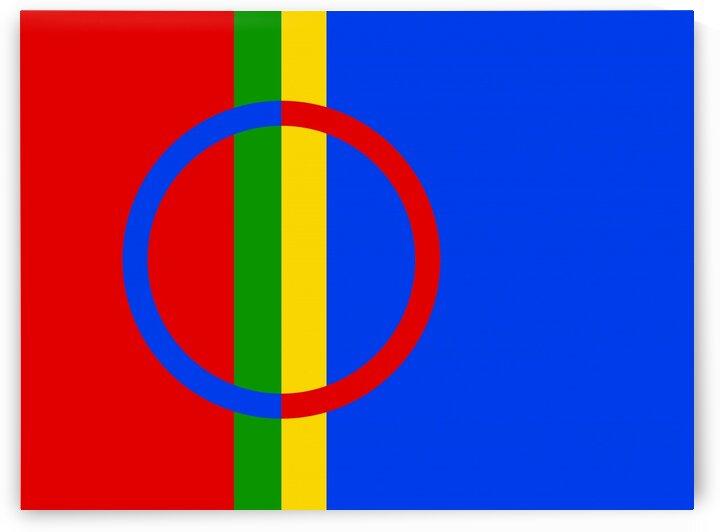 Sami Flag by Tony Tudor