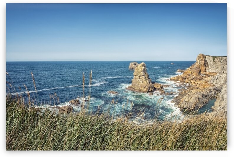 Coast in the North of Spain by Manjik Pictures
