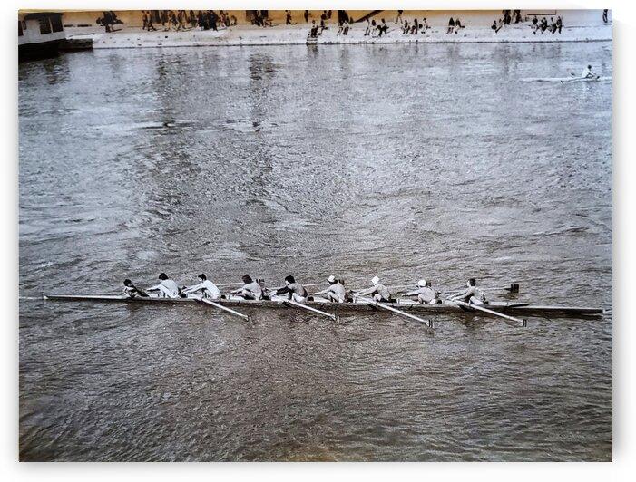 Paris Rowing 1975   2 by Alain Harrus