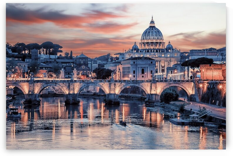 Pink Rome by Manjik Pictures
