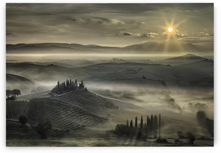 Tuscan Morning by 1x