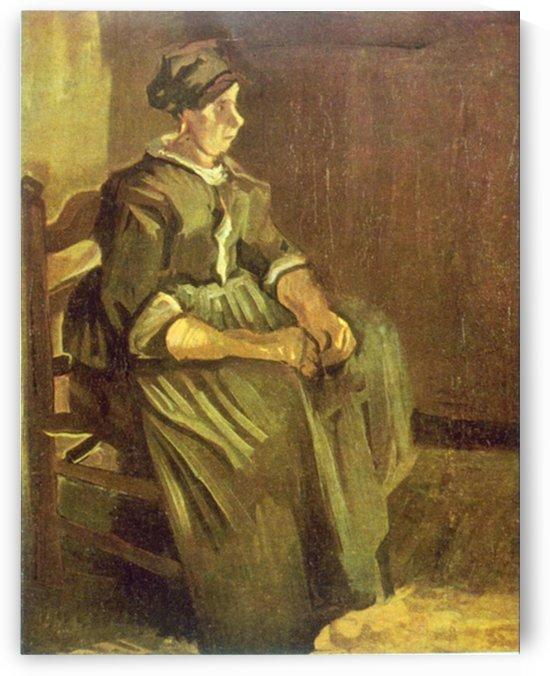 Sitting by Van Gogh by Van Gogh