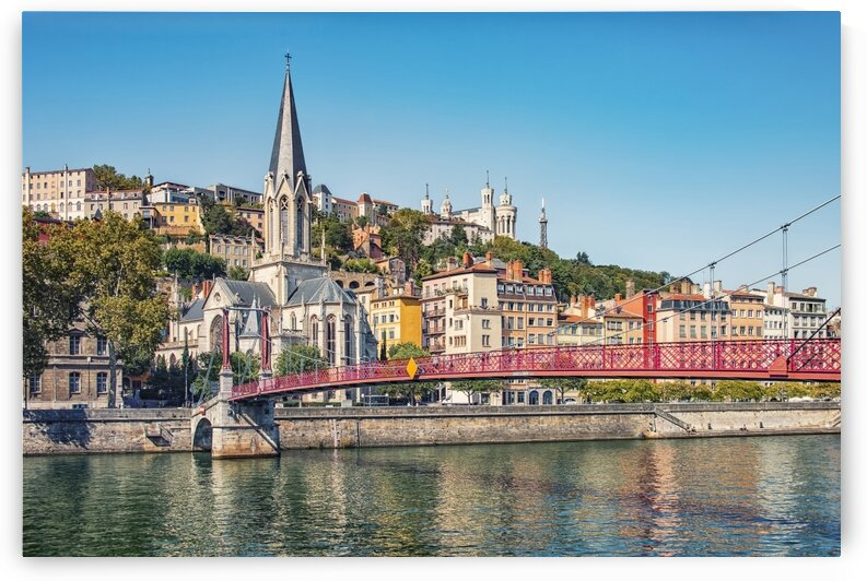 The city of Lyon by Manjik Pictures