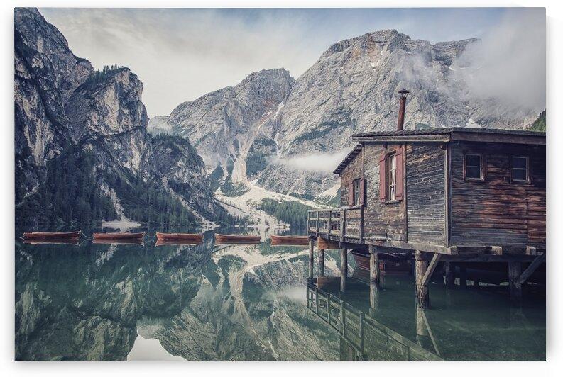 Braies lake by Manjik Pictures
