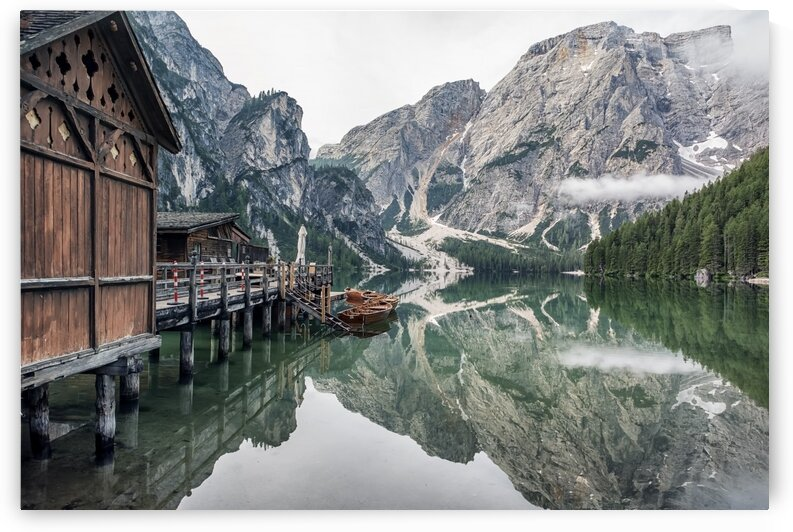 Braies reflection by Manjik Pictures