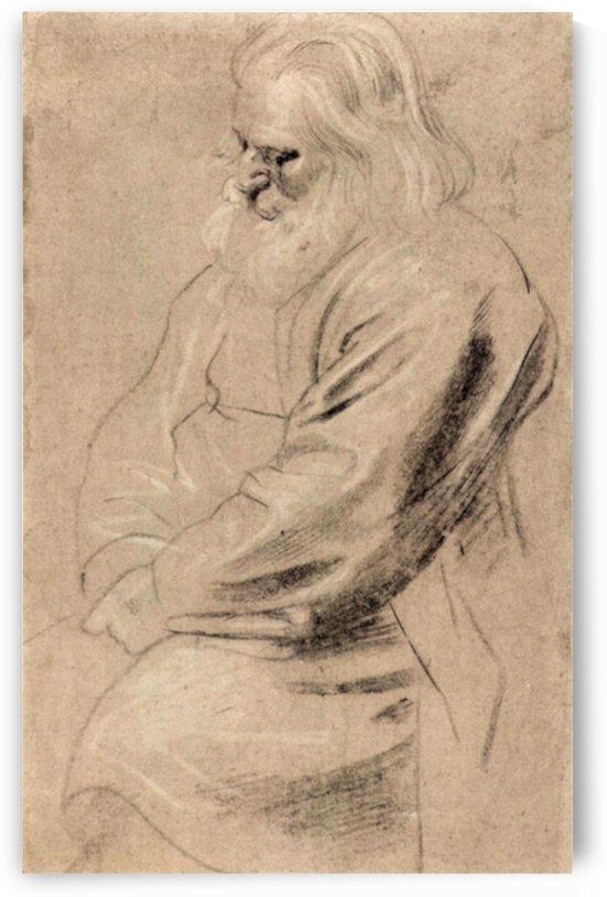 Sitting Greis by Rubens by Rubens