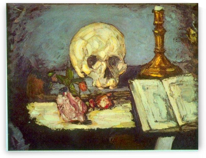 Skull by Degas by Degas