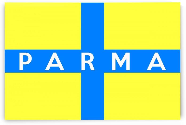 Parma flag name by Tony Tudor