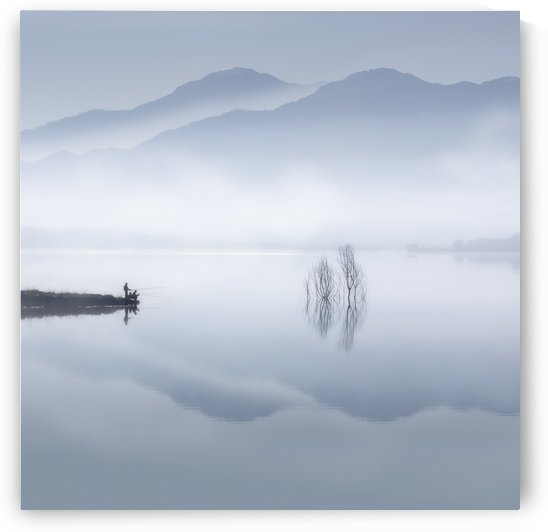 Blue silence by Jose Beut  by 1x