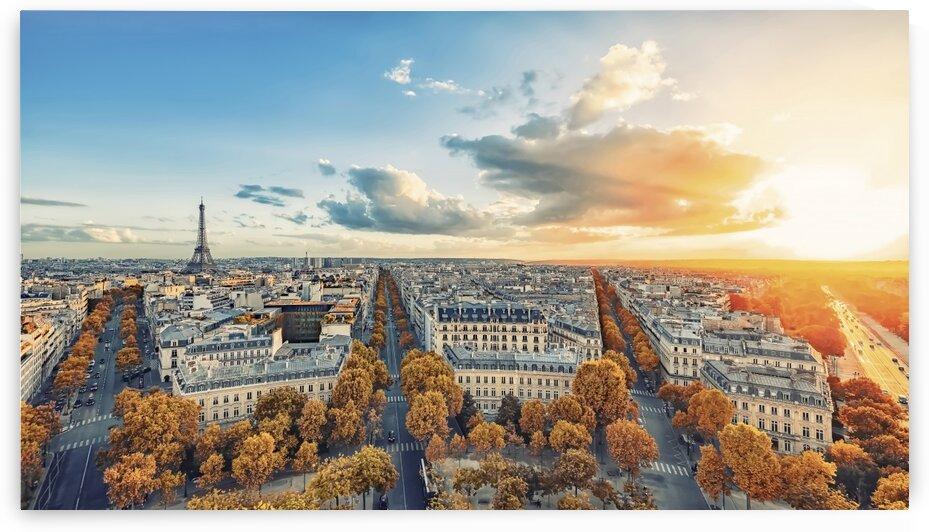 Paris panorama by Manjik Pictures