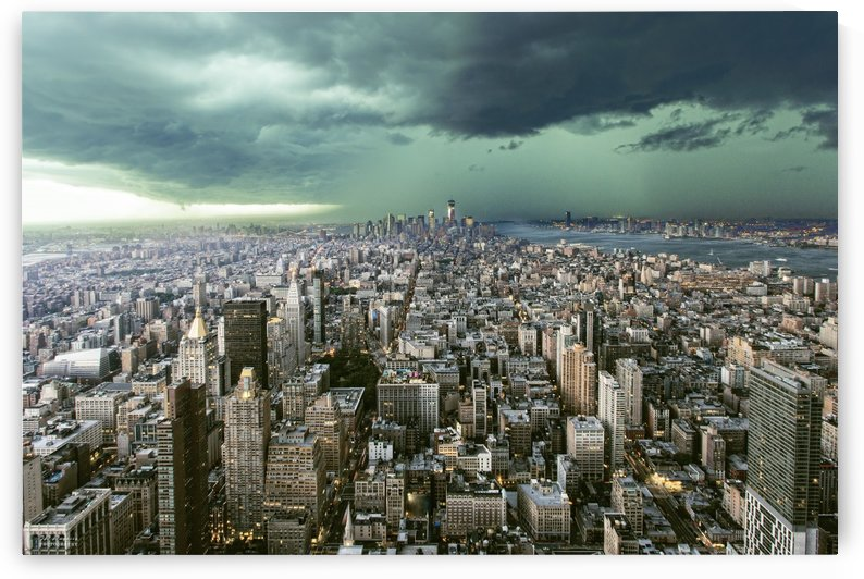 New-York under storm by Pagniez   by 1x